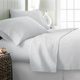 Simply Soft Bed Sheet Set By Ienjoy Home, Size: Twin, Blue