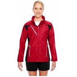Team 365 Ladies Dominator Waterproof Jacket, Style Tt86w, Women's, Size: XL, Red