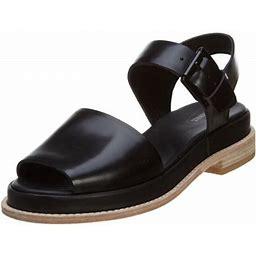 Clarks Madlen Sandal Womens Style : 26107495, Women's, Size: 8.5, Black