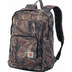 Carhartt Legacy Classic Work Backpack With Padded Laptop Sleeve, Mossy Oak, One Size