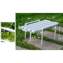 Hydroponic 36 Sites Grow Kit Plant Growing System For Leafy Vegetables