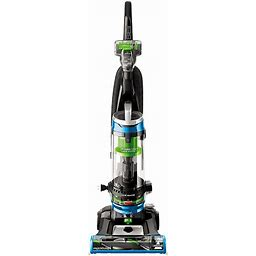 BISSELL Powerclean Swivel Rewind Pet Upright Vacuum, Blue