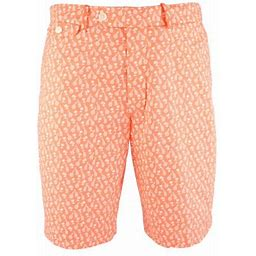 Polo Ralph Lauren Men's Golf Classic Fit Stretch 10- Inch Short, Size: 35, Orange