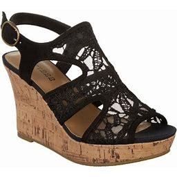 Dept 222 Womens Artesia Casual Sandal, Women's, Size: 9M, Black