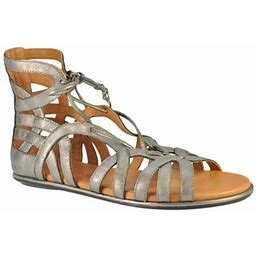 Women's Gentle Souls Break My Heart Gladiator Sandal, Size: 7, Gray