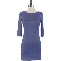 Von Vonni Women's London Dress, Size: XS, Blue