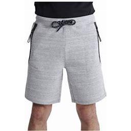 Superdry Gymtech Light Grey Marl Men's Shorts Ms300022a-lgry, Size: 2XL, Gray