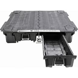 DECKED 2-Drawer Pickup Truck Bed Storage System - For GM Silverado Or Sierra (2007-2018), 5Ft.9Inch Bed Length, Model DG3