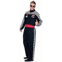 Speed Demon Men's Adult Halloween Costume, One Size, (42-46), Size: Standard, Black