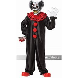 California Costumes Last Laugh The Clown Mens One Size Halloween Costume 01143