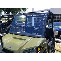 Polaris Ranger 570 Midsize 1/4 Polycarbonate Full Windshield 2015-2021 A&S