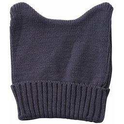 Topheadwear Cute Adventure Ears Rib Knit Beanie, Adult Unisex, Size: One Size, Gray