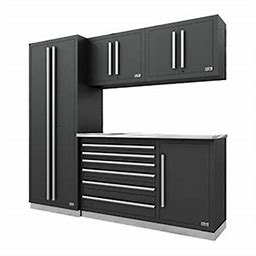 Fusion Pro 5-Piece Tool Cabinet System (Silver) 71001K