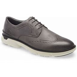Men's Johnston & Murphy Xc4 Tanner Waterproof Wingtip Derby, Size 10 M - Grey