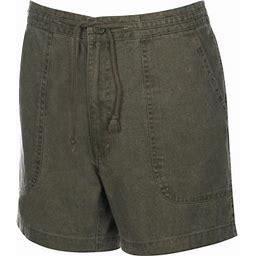 Weekenders Weekender Men's Original Deck Shorts, Olive, 36, Green