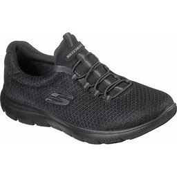 Wide Width Women's The Summits Sneaker By Skechers In Black Wide (7 Wide)