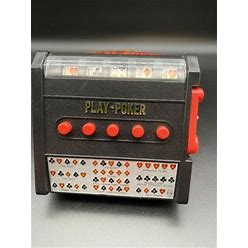 Vintage 1970S Cordless Electric Full Automatic Draw Poker - Tested