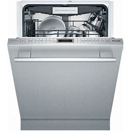 """Thermador - 24"""" Top Control Built-In Dishwasher With Stainless Steel Tub - Stainless Steel"""