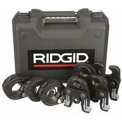 Ridgid 48553 Pressing Jaw Kit,1/2 In. To 2 In. Pipe