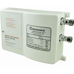 Chronomite Instant-Flow Micro 120V Undersink Electric Tankless Water Heater, 3,600 W Watts, 30 A Amps - Water Heaters Model: CM-30L/120 110F