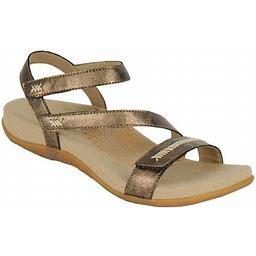Women's Aetrex Gabby Quarter Strap Sandal, Size: 37, Bronze