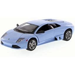 Lamborghini Murcielago Lp640, Light Blue - Maisto 31292 - 1/24 Scale Diecast Model Toy Car
