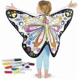 Color A Fairy Wing Costume By Young Explorers For Girls