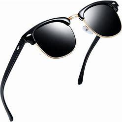 Joopin Polarized Semi Rimless Sunglasses Women Men Brand Sun Glasses UV Protection