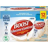 24 Packs Boost Glucose Control Ready To Drink Nutritional Drink, Very Vanilla, - 8 FL OZ Bottles
