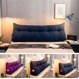Bed Headrest Sofa Bed Large Filled Wedge Triangular Support Pillow Cushion,Bedside Pillow Bed Backrest Positioning Reading Pillow Office Sofa Tatami