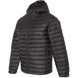 Weatherproof - 32 Degrees Hooded Packable Down Jacket - 17602, Men's, Size: 2XL, Black