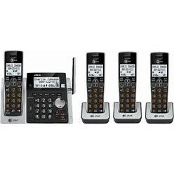 AT&T CL83413 DECT 6.0 4 Handset Cordless Phone System