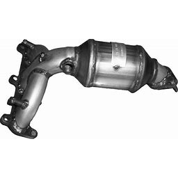 Davico 2005 Hyundai Santa Fe Catalytic Converter - 47-State Legal (Cannot Ship To CA, NY Or ME) - Front, Passenger Side