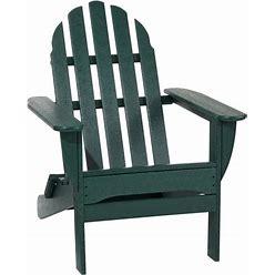All-Weather Classic Adirondack Chair Green   L.L.Bean