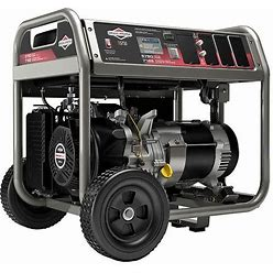 Briggs & Stratton Portable Generator, Conventional, Generator Fuel Type Gasoline, Generator Rated Watts 5,750 W Model: 30738