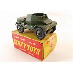 Dinky Toys GB N° 673 Scout Car Military IN Box