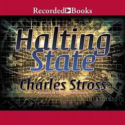 Halting State - Audiobook, By Charles Stross