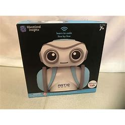 Educational Insights Artie 3000 The Coding Robot: STEM Toy, Coding Robot For Kid