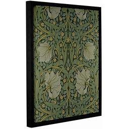 Bungalow Rose 'Pimpernel Wallpaper Design 1876' 2 Framed Graphic Ar...