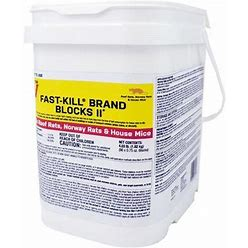 Victor Pest M904 4 Lb. Fast-Kill Brand Blocks II Bulk Rodenticide