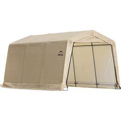 Shelterlogic 10-Ft X 15-Ft Canopy Storage Shelter In Yellow   62681