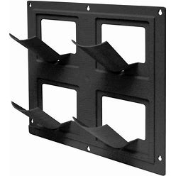 Lowe's 17-In W X 5.5-In H Black Plastic Hanging Planter   2492-1