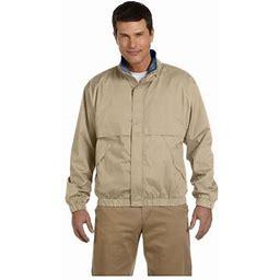 Devon & Jones Men's Clubhouse Shell Jacket, Style D850, Size: XL, Beige