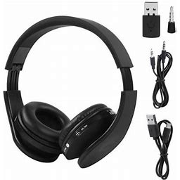 Wireless Bluetooth Headphones For PS4 Gaming Headset Hifi Stereo Headphones With Mic Inbuilt Noise Cancelling Bluetooth Headset, Size: 18