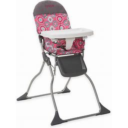 Cosco Simple Fold High Chair In Posey Pop Pink/Grey - Cosco - High Chairs - Highchair - Pink/Grey