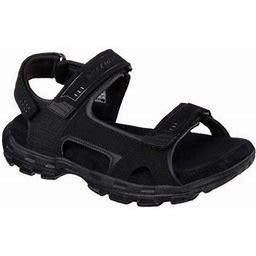 Men's Skechers Relaxed Fit Conner Louden Sandal, Size: 12 Medium, Black