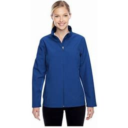 Team 365 Ladies Leader Soft Shell Jacket, Style Tt80w, Women's, Size: Small, Blue