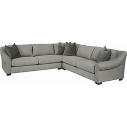 Havertys Laney Sectional | Ash