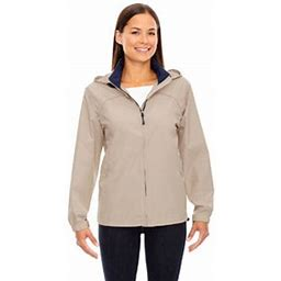 North End Women's Techno Lite Jacket, Size: Medium, Beige