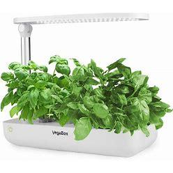 Vegebox Hydroponics Growing System - Indoor Herb Garden, Smart Garden Starter Kit With LED Grow Lights For Home Kitchen, Plant Germination Kits (9